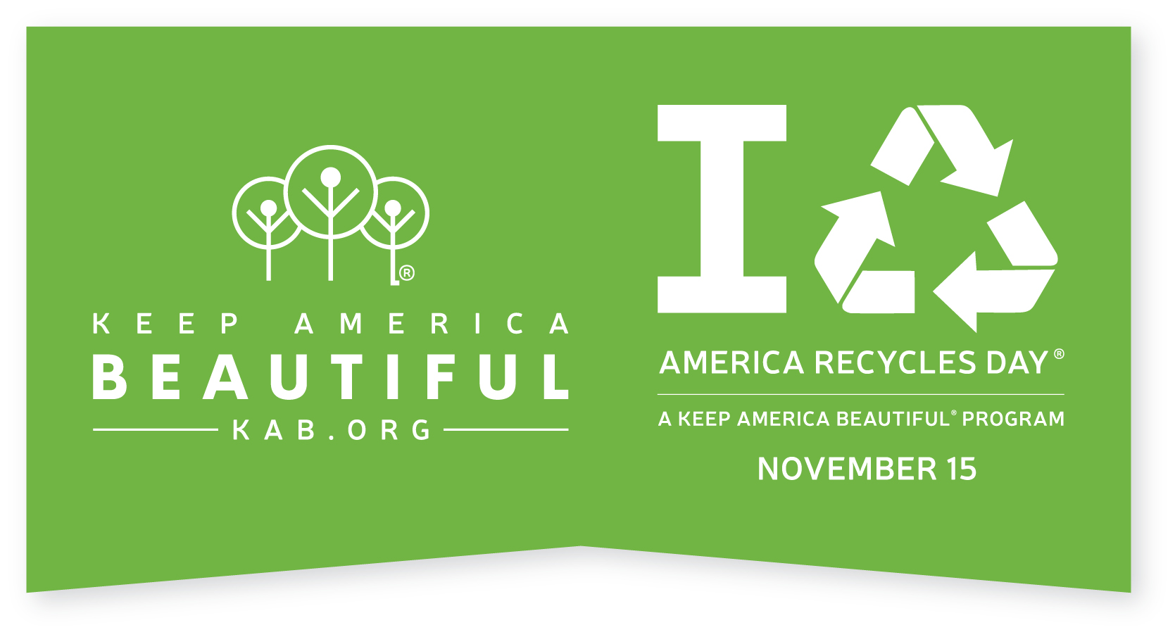 Keep America BeautifulⓇ celebrates America Recycles DayⓇ