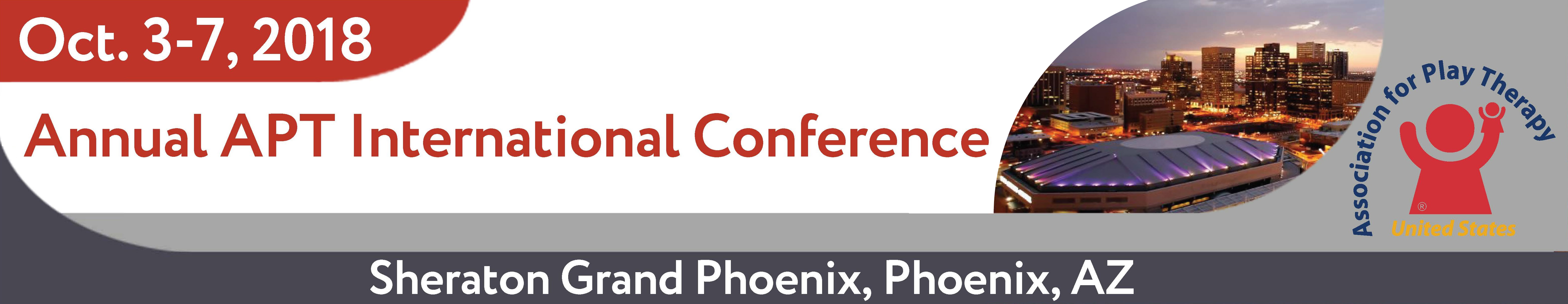 Annual APT International Conference - October 3-7, 2018