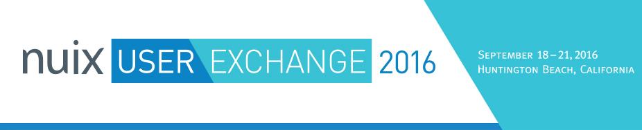 Nuix User Exchange 2016