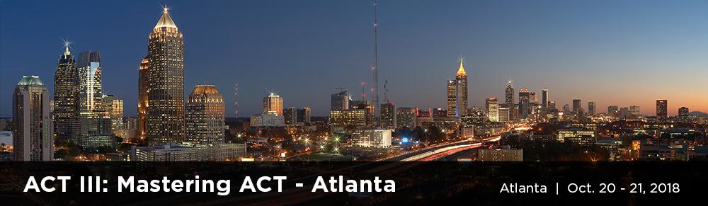 ACT3 Atlanta banner