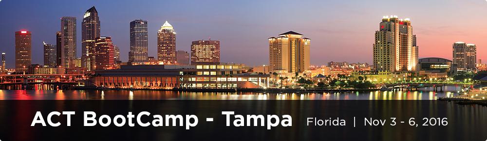 ACT BootCamp Tampa Fall 2016