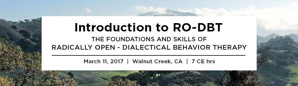Introduction to RO-DBT