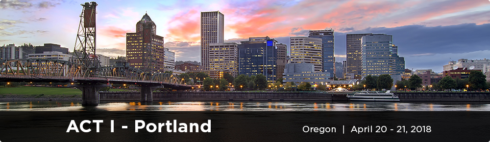 ACT I Portland cventbanner