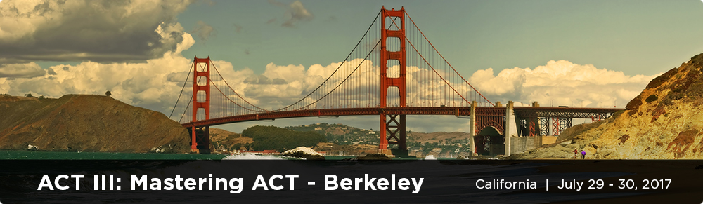 ACT III: Mastering ACT - California