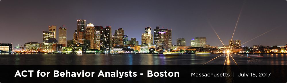 ACT for Behavior Analysts - Boston