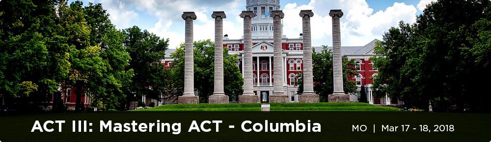 Mastering ACT Columbia - MO