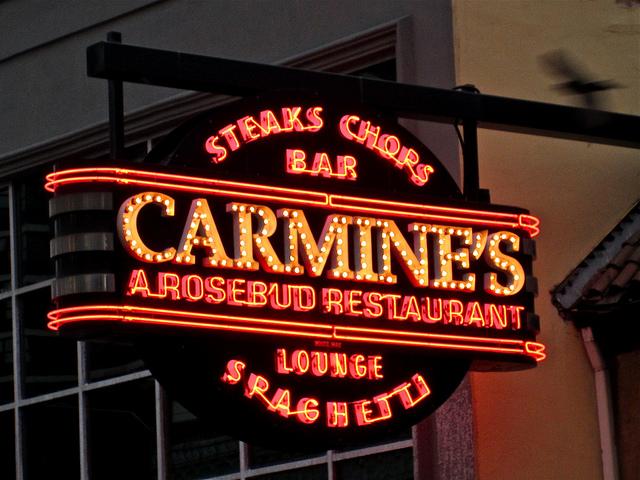 carmines sign