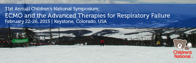31st Annual CNMC Symposium: ECMO & the Advanced Therapies for Respiratory Failure