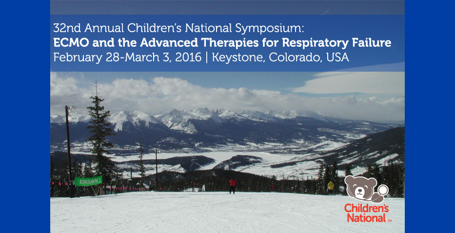 32nd Annual CNMC Symposium: ECMO & the Advanced Therapies for Respiratory Failure
