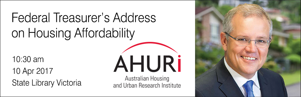 Federal Treasurer's Address on Housing Affordability