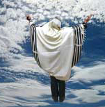 rabbi in the clouds