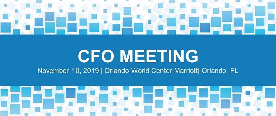 CFO Meeting