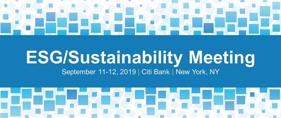 ESG/Sustainability Meeting