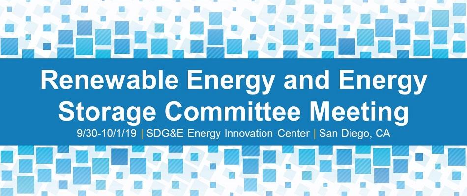 Renewable Energy and Energy Storage Committee Meeting