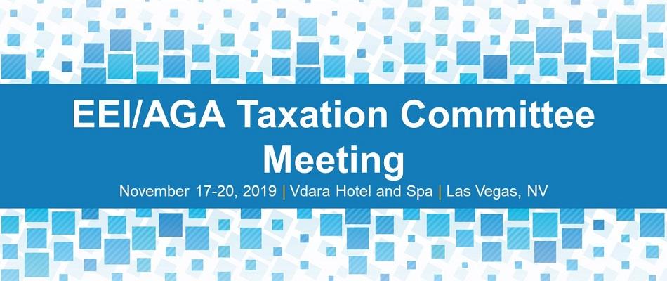 EEI/AGA Taxation Committee Meeting