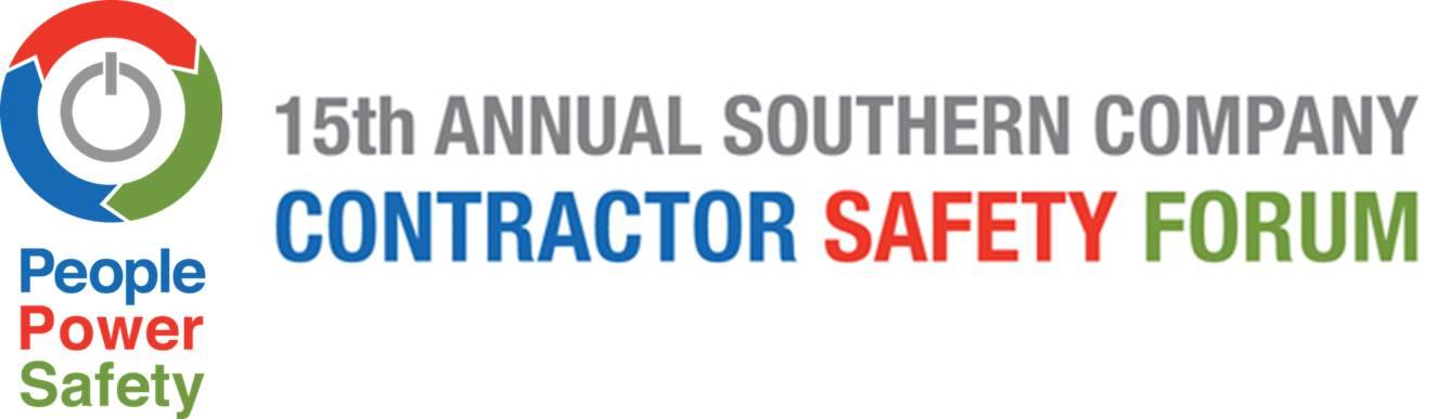2016 Contractor Safety Forum - Presentations