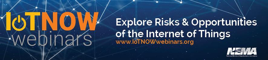 IoTNOW Webinar Series 2018