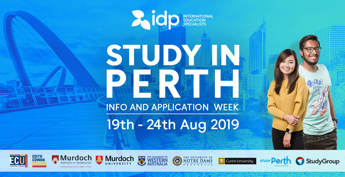 Study in Perth Info & Application Week