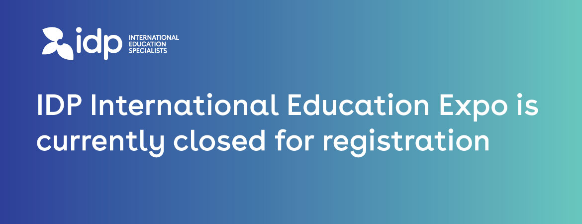 IDP International Education Expo - What's next?