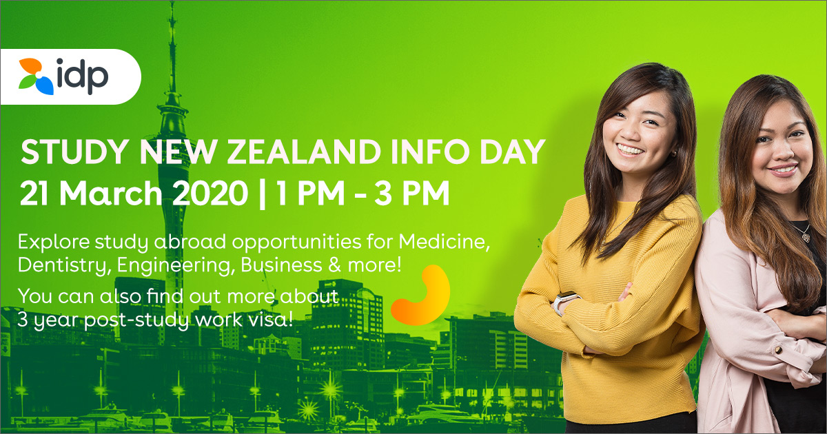 Study in New Zealand Info Day