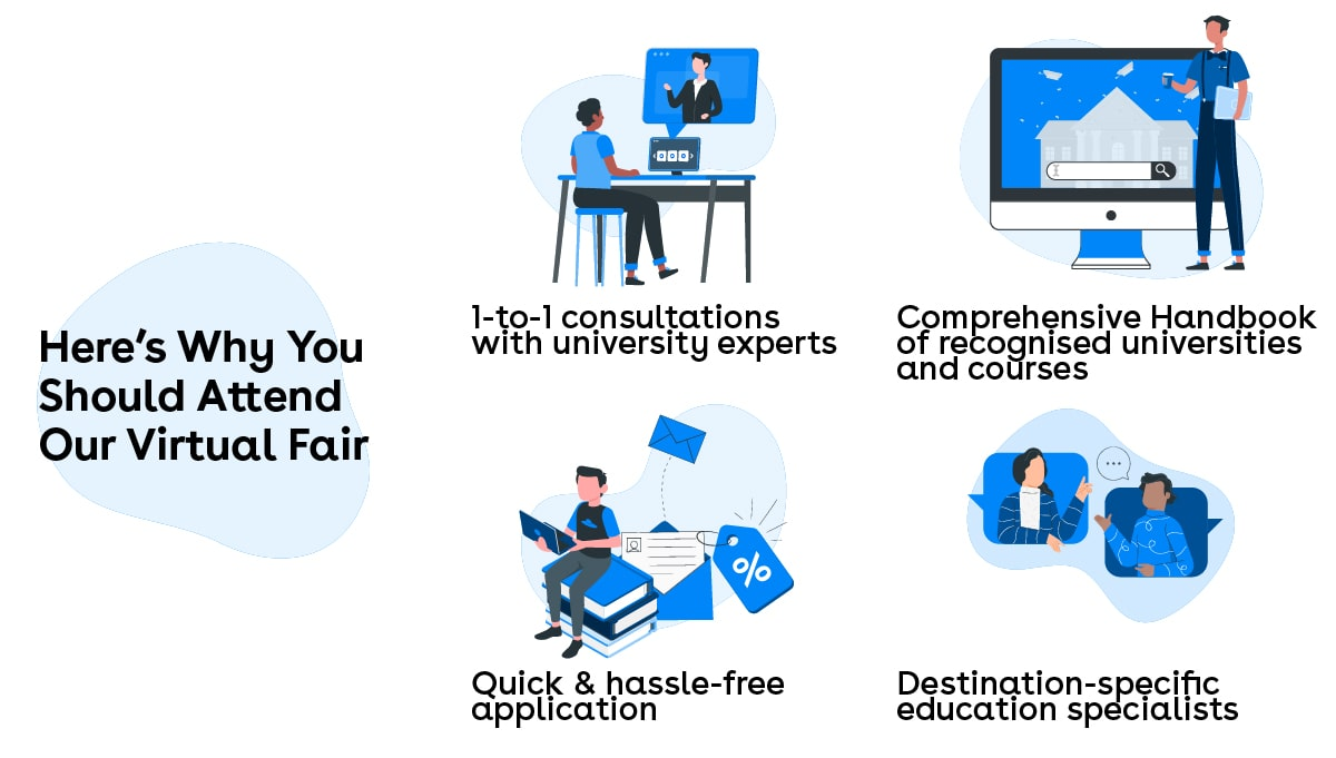 HERE'S WHY YOU SHOULD ATTEND IDP VIRTUAL FAIR