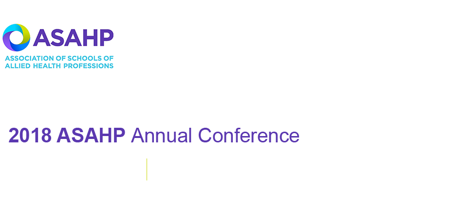 2018 ASAHP Annual Conference