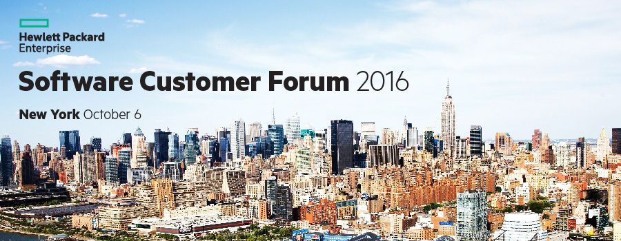 Hewlett Packard Enterprise Software Customer Forum