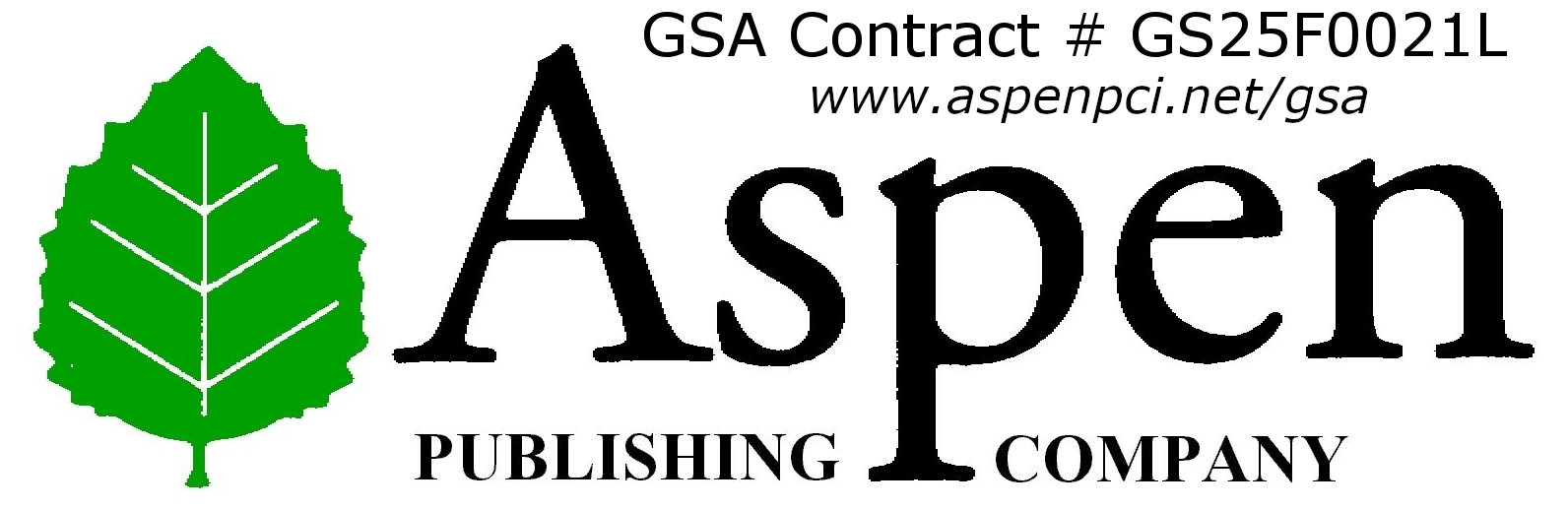 aspen publishing with gsa contract AND websit