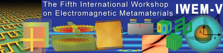 IWEM-V: The 5th International Workshop on Electromagnetic Metamaterials
