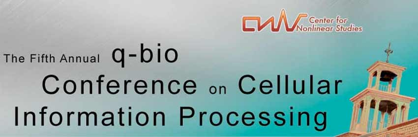 The 5th Annual q-bio Conference on Cellular Information Processing
