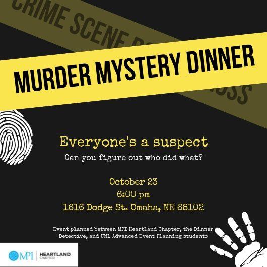 Murder Mystery Invitation 2