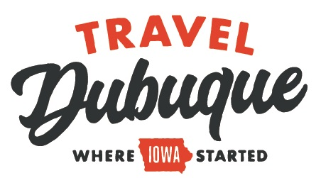 Travel Dubuque Logo Tag cropped