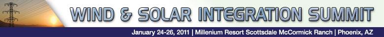 Wind & Solar Integration Summit (C)