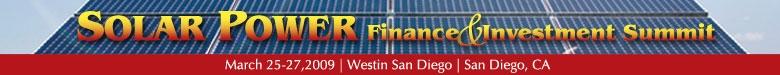Solar Power Finance & Investment Summit