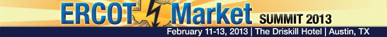 ERCOT Market Summit 2013
