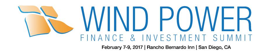 Wind Power Finance & Investment Summit