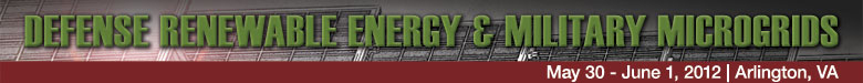 Defense Renewable Energy & Military Microgrids