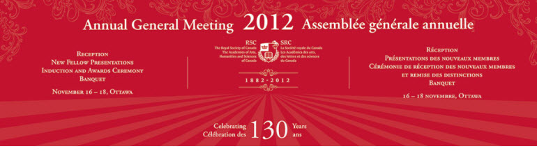2012 Annual General Meeting: New Fellow Presentations, Induction & Awards Ceremony, Banquet