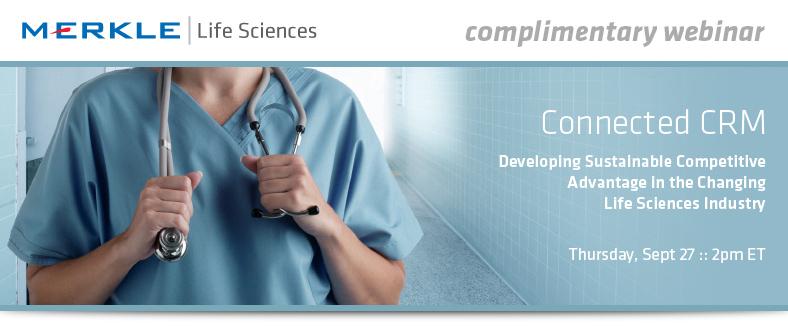 Life Sciences Webinar Header