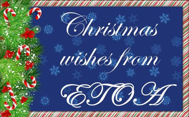 ETOA newsletter Christmas card