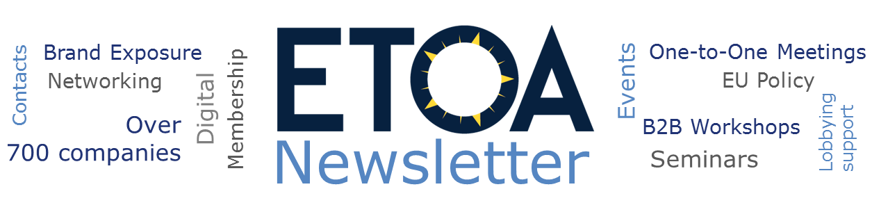 ETOA Newsletter banner