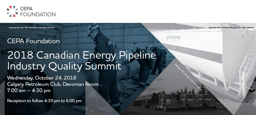 2018 Canadian Energy Pipeline Industry Quality Summit