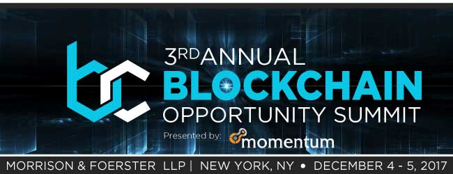 3rd Annual Blockchain Opportunity Summit