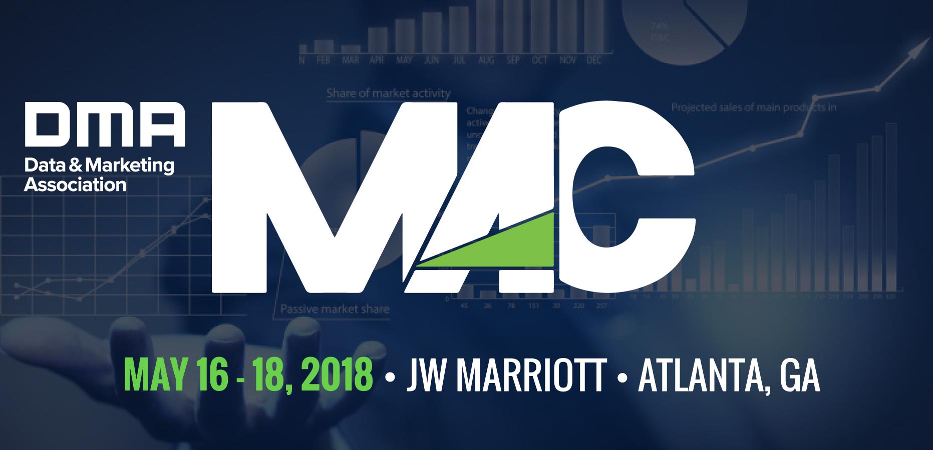 DMA's 2018 Marketing Analytics Conference