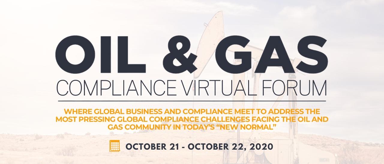 The Oil & Gas Compliance Virtual Forum