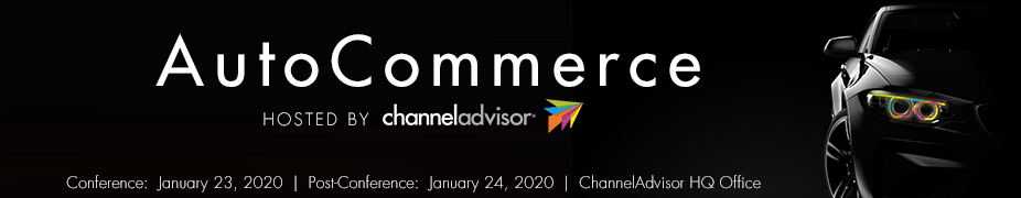 AutoCommerce 2020 hosted by ChannelAdvisor