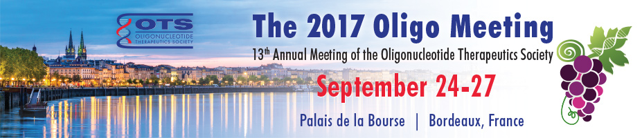 13th Annual Meeting of the Oligonucleotide Therapeutics Society