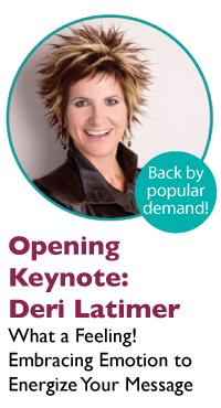 Opening Keynote - Deri Latimer
