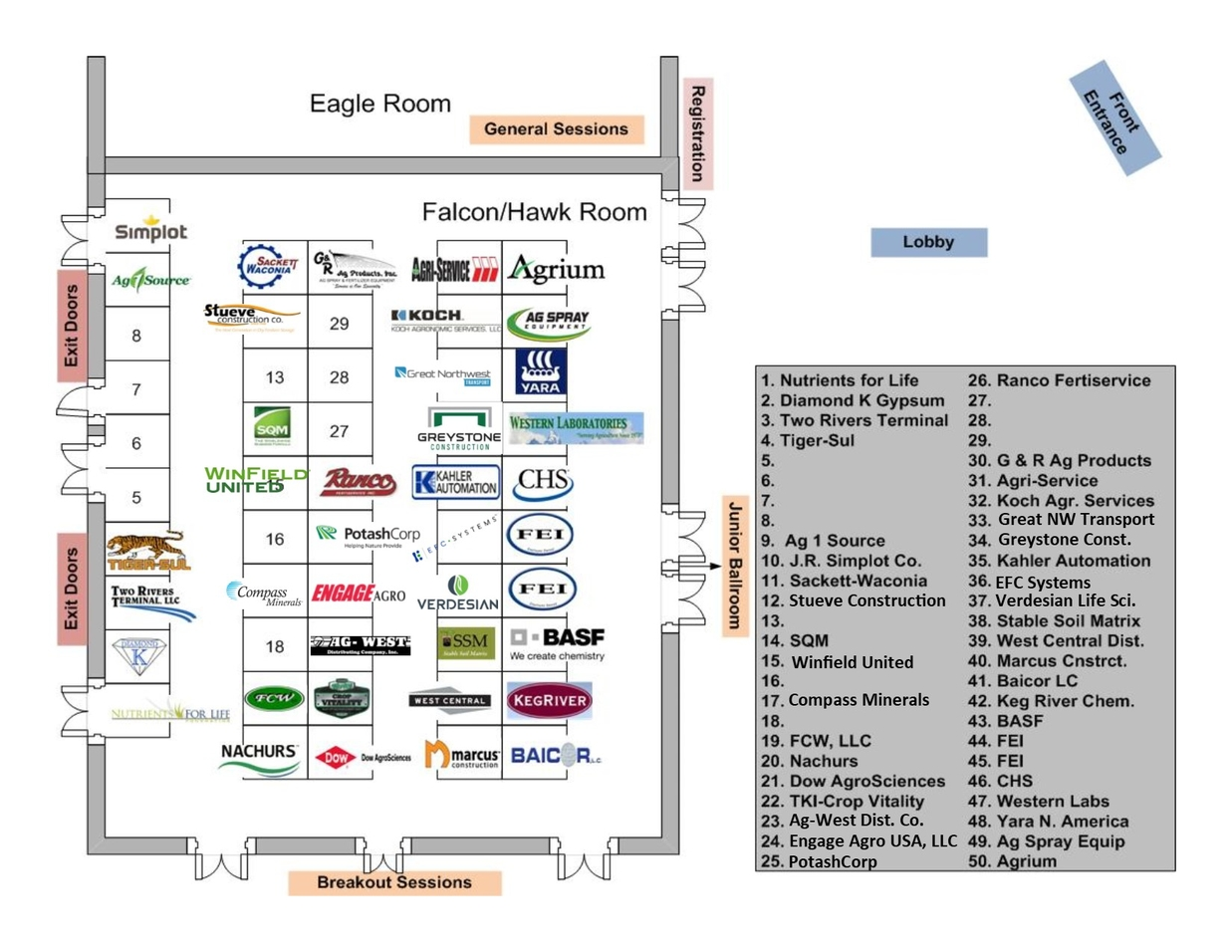 Exhibitor Diagram for Web