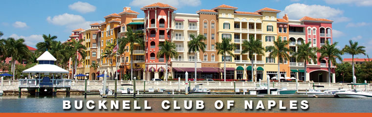 Bucknell Naples Club-Cocktails and Dinner at Naples Sailing & Yacht Club